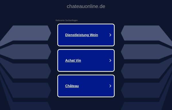 Vorschau von www.chateauonline.de, ChateauOnline