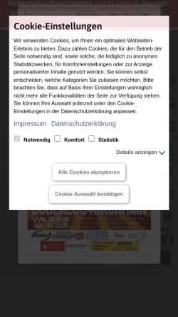 Vorschau der mobilen Webseite www.doberlug-kirchhain.de, Doberlug-Kirchhain