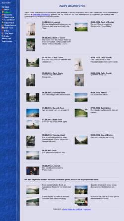 Vorschau der mobilen Webseite igor.rock-clan.de, Irland Fotos [Stefan Giesen]