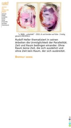 Vorschau der mobilen Webseite www.rudolf-heller.at, Heller, Rudolf