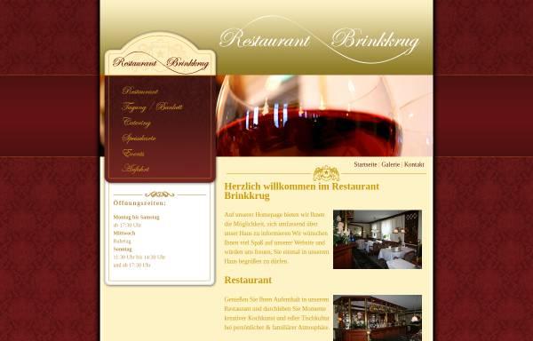 Vorschau von www.brinkkrug.de, Restaurant Brinkkrug