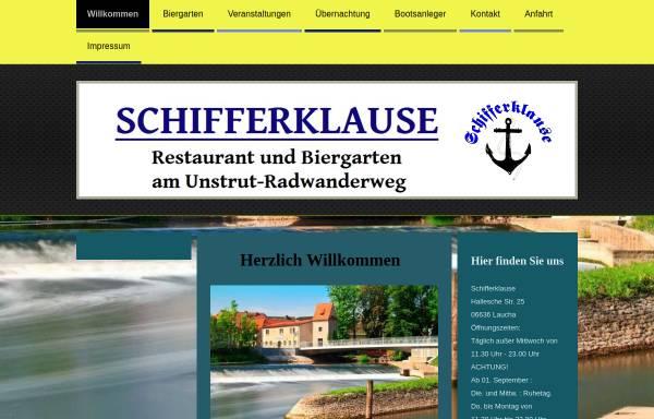 Vorschau von www.schifferklause-laucha.de, Schifferklause Laucha