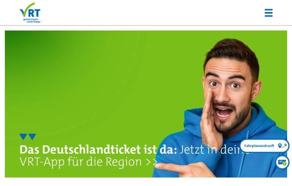Vorschau von www.vrt-info.de, VRT Verkehrsverbund Region Trier