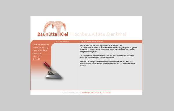Bauunternehmen Kiel bauhütte kiel bauunternehmen für denkmalsanierung altbausanierung