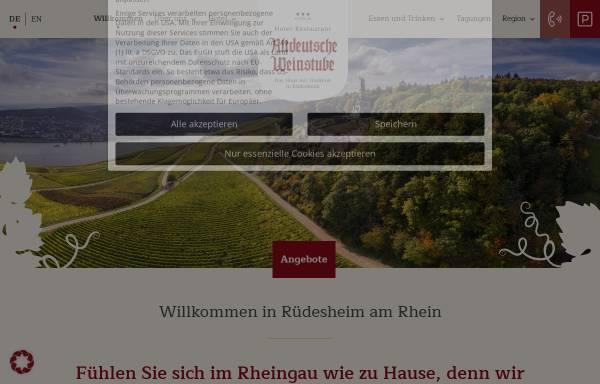Vorschau von www.hotel-altdeutsche-weinstube.de, Hotel Altdeutsche Weinstube