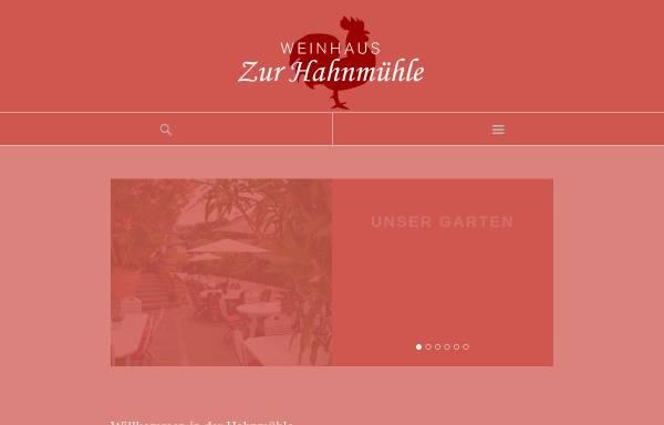 Vorschau von www.hahnmuehle.de, Zur Hahnmühle