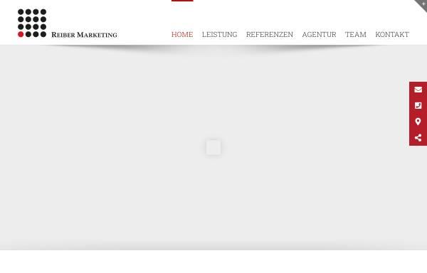 Vorschau von www.reiber.marketing, Reiber Marketing GmbH