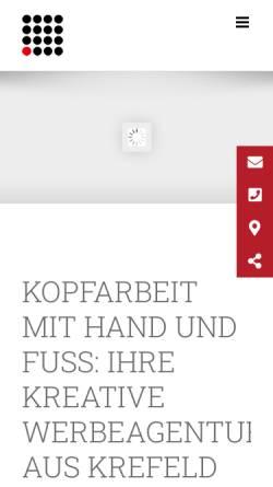 Vorschau der mobilen Webseite www.reiber.marketing, Reiber Marketing GmbH