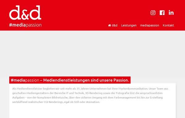 Vorschau von www.dd-medien.de, d und d digital data repro GmbH
