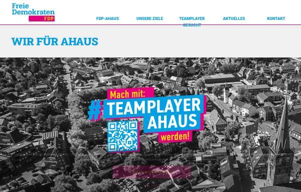 Vorschau von www.fdp-ahaus.de, FDP Ahaus