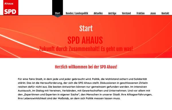 Vorschau von www.spd-ahaus.de, SPD-Ortsverein Ahaus
