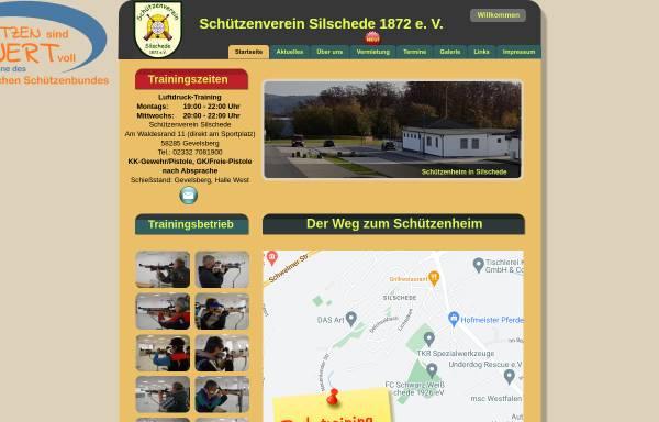 Vorschau von www.sv-silschede.de, Schützenverein Silschede 1872 e.V.