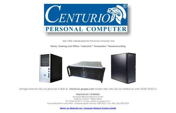 Vorschau von centurio.de, Computer Network Systems GmbH