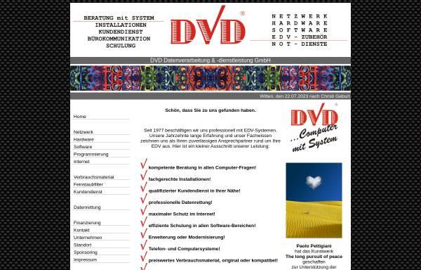 Vorschau von www.dvd-witten.de, DVD GmbH