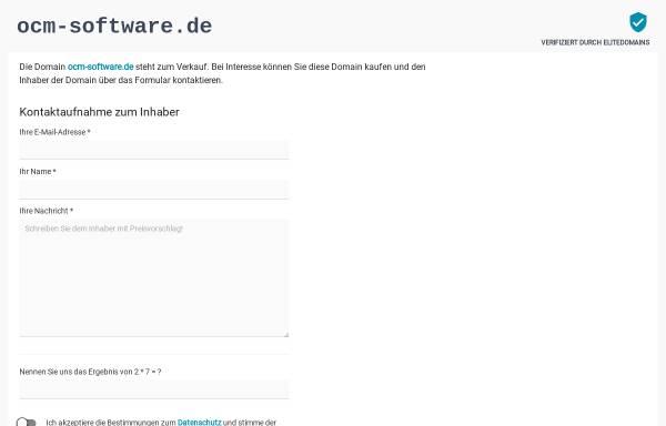 Vorschau von www.ocm-software.de, Heinz Reiter - Ocm Software