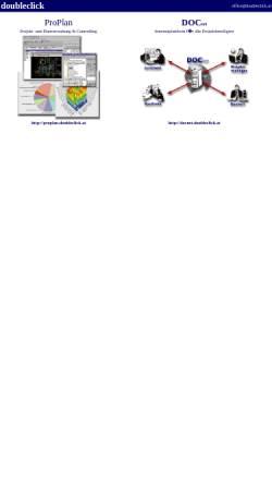 Vorschau der mobilen Webseite doubleclick.at, Oliver Kumhofer
