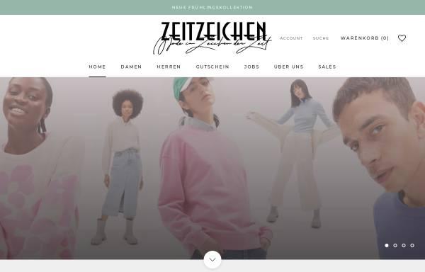 Vorschau von www.zeitzeichen.com, Zeitzeichen Handels GmbH