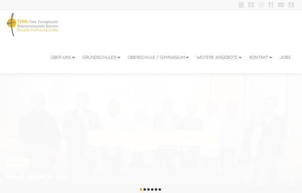 Vorschau von www.freie-evangelische-bekenntnisschule.de, Freie Evangelische Bekenntnisschule