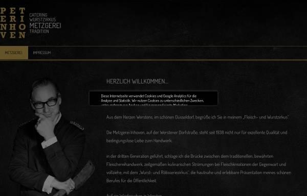 Vorschau von www.inhoven.de, Metzgerei Inhoven