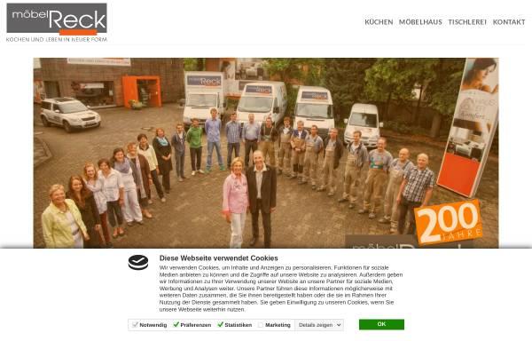Vorschau von moebel-reck.de, Möbel Reck - Einrichtungshaus