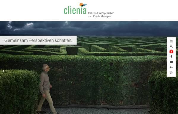 Vorschau von www.clienia.ch, Clienia Privatklinik Littenheid