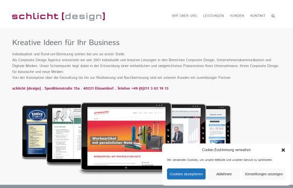 Vorschau von www.schlicht-design.de, Frau Nicole Schlicht Dpl. Grafik-Designerin