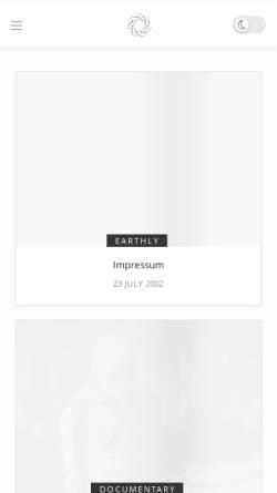 Vorschau der mobilen Webseite orwell.report, Joachim Karl Tischbierek