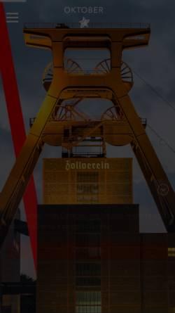 Vorschau der mobilen Webseite oktober.de, Oktober Kommunikationsdesign GmbH