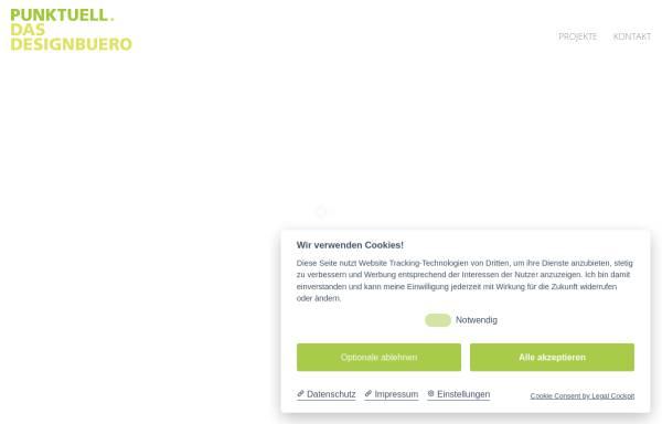 Vorschau von www.punktuell-werbeagentur.de, PUNKTUELL. DAS DESIGNBUERO