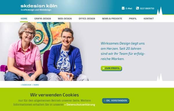 Vorschau von www.skdesign-koeln.de, skdesign köln | Grafikdesign und Webdesign