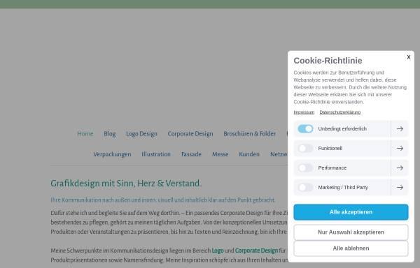 Vorschau von www.stefanie-fuchs-design.de, Stefanie Fuchs Dipl. Grafik-Designerin