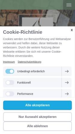 Vorschau der mobilen Webseite www.stefanie-fuchs-design.de, Stefanie Fuchs Dipl. Grafik-Designerin
