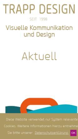 Vorschau der mobilen Webseite dafg.net, Trapp & Friends