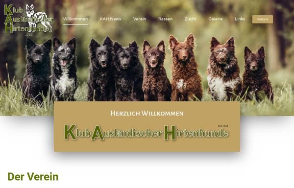 Vorschau von www.hirtenhunde.ch, KAH