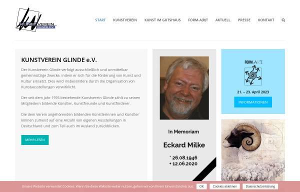 Vorschau von www.kvglinde.de, Kunstverein Glinde e.V.