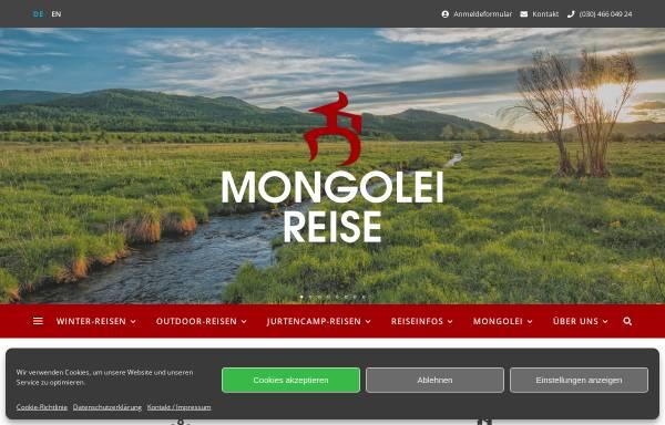 Vorschau von www.mongolei-reise.de, Mongolei-Reise Berlin
