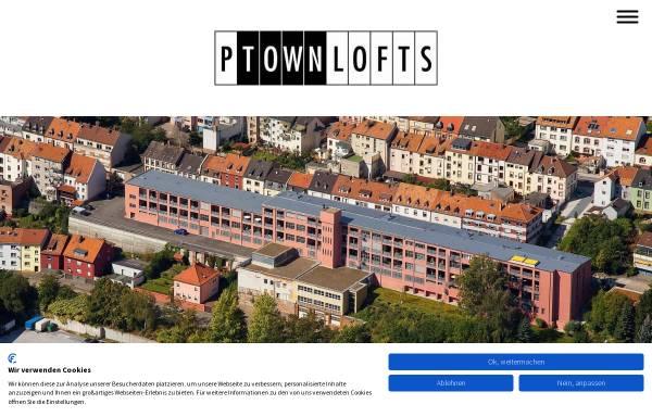 Vorschau von www.p-town-lofts.de, P-town Lofts