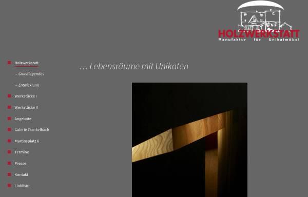 Vorschau von www.holzwerkstatt-frankelbach.de, Holzwerkstatt Frankelbach