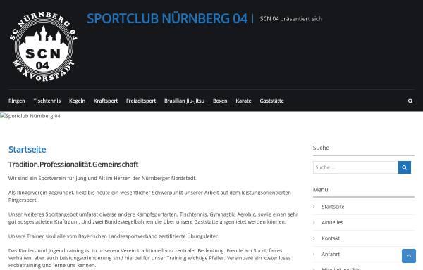 Vorschau von www.sportclub-nuernberg04.de, Sportclub Nürnberg 04 e.V.