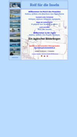 Vorschau der mobilen Webseite www.griechische-inseln.org, Reif für die Inseln [Frank Möhn]