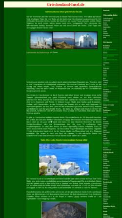 Vorschau der mobilen Webseite www.griechenland-insel.de, Reiseführer Griechische Inseln [Jörg Schäufele]