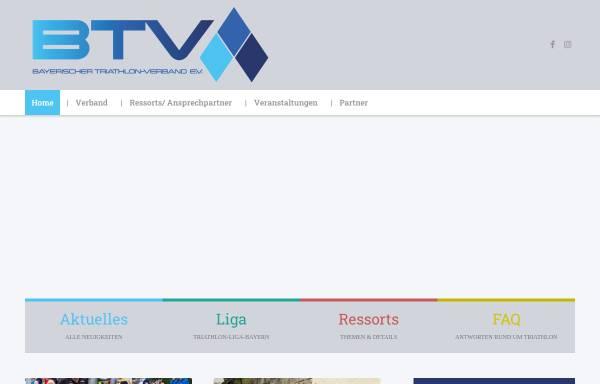 Vorschau von www.triathlon-bayern.de, Bayerischer Triathlon Verband