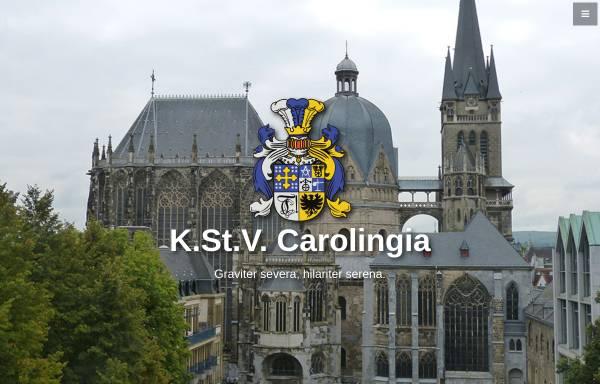 Vorschau von www.carolingia.rwth-aachen.de, Carolingia zu Aachen