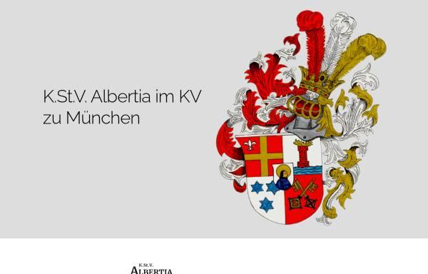 Vorschau von www.albertia.org, Albertia München