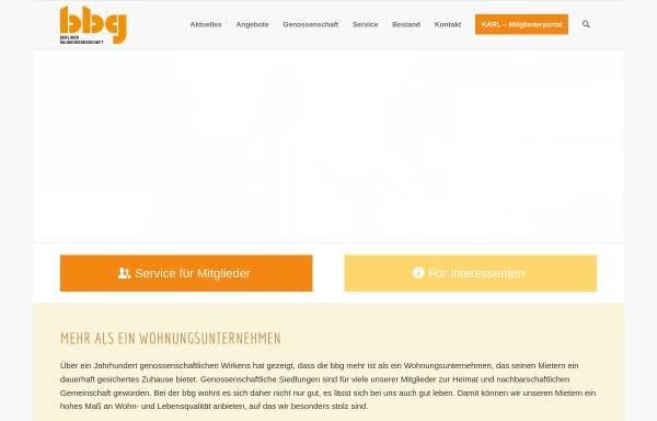 Berliner Baugenossenschaft Eg Baugenossenschaften