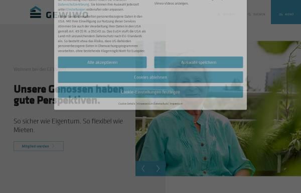 Vorschau von www.gewiwo.de, GEWIWO Berlin Wittenauer Wohnungsbaugenossenschaft eG