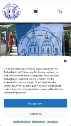 Vorschau der mobilen Webseite www.sc-neustadt.de, Schwimmclub 1900 e.V. Neustadt/Weinstr.