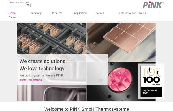 Vorschau von www.pink.de, PINK GmbH