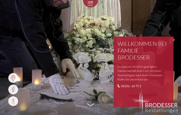 Vorschau von www.bestattungen-brodesser.de, Brodesser Bestattungen oHG