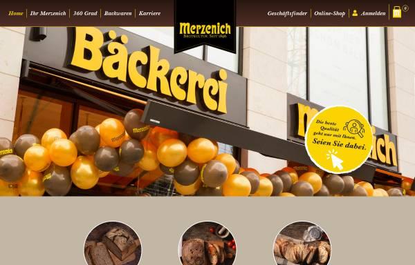 Vorschau von www.merzenich.net, Merzenich Bäckereien GmbH